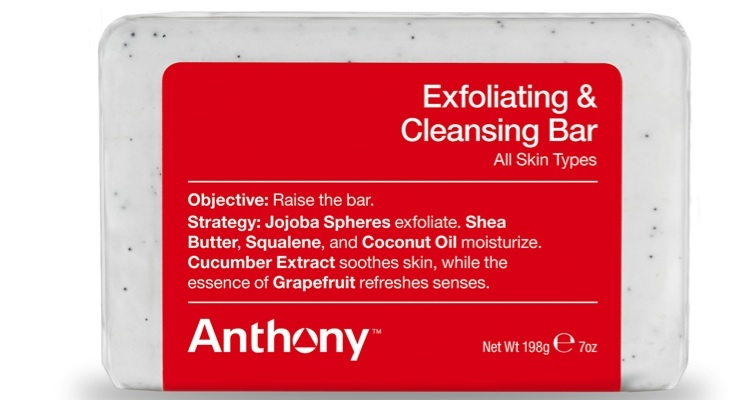 Anthony Debuts Exfoliating & Cleansing Bar