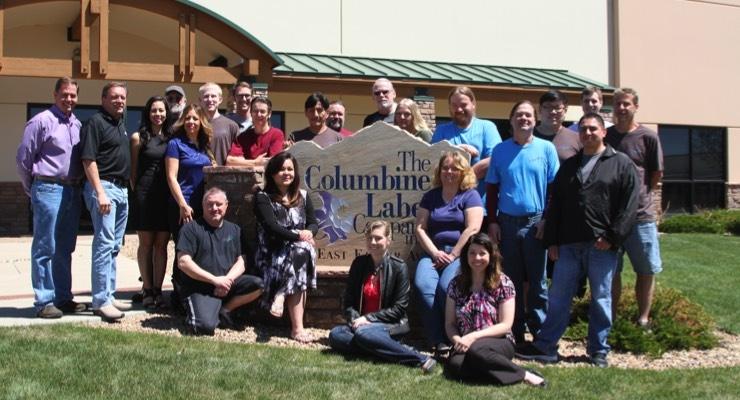 The Columbine Label Company team
