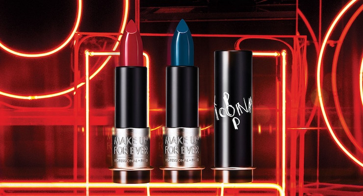 Make Up For Ever's New Lipstick Colors By Icona Pop