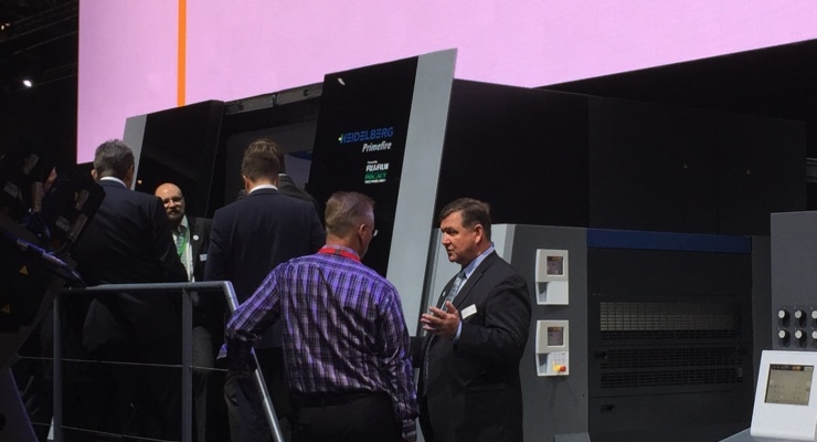 New Press Technologies on Display at drupa 2016