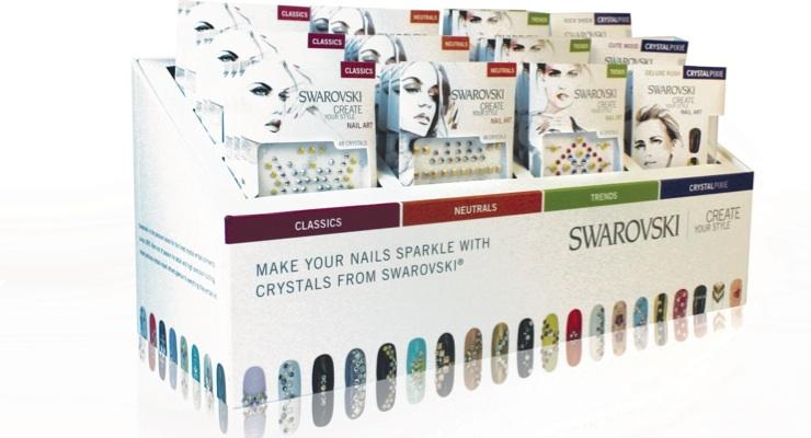 Swarovski Enters Nail Category