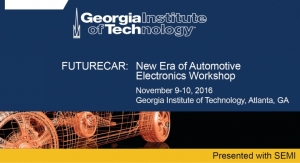 Georgia Tech, SEMI Launch FUTURECAR Workshop