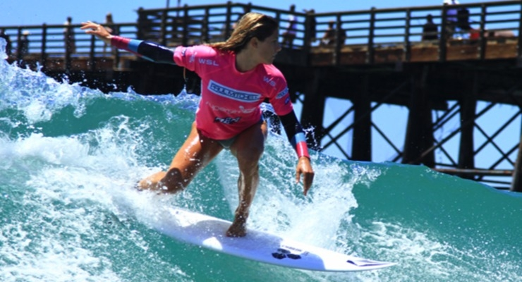 Paul Mitchell Backs Women's Pro Surf Event