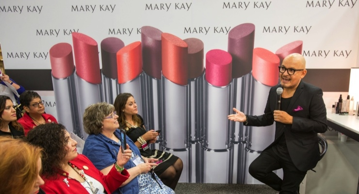 Mary Kay Names Casco Global Makeup Artist