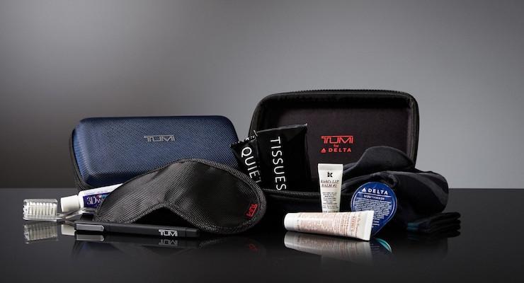 Delta Adds Kiehl's & TUMI To Amenity Kits