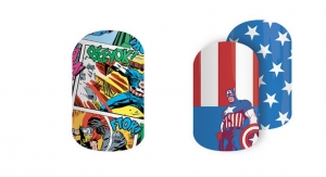 Jamberry Launches New Marvel Nail Wrap Collection