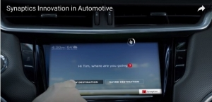 Synaptics Innovation in Automotive