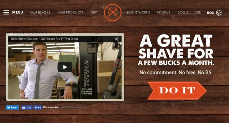 Unilever Buys Dollar Shave Club