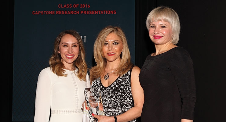 SGD's Sheherazade Chamlou Receives FIT/Coty Award