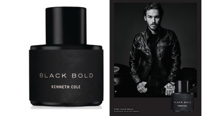 Kenneth Cole Launches Black Bold Fragrance