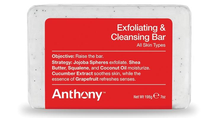 Anthony Debuts Exfoliating Bar