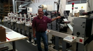 Adflex adds Nilpeter FB servo press