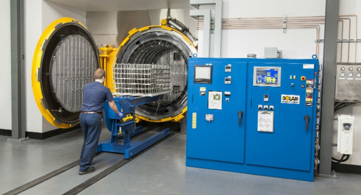 Operators performing critical processes such as heat treating can find the link between product and patient hard to establish. (Courtesy of Solar Atmospheres)
