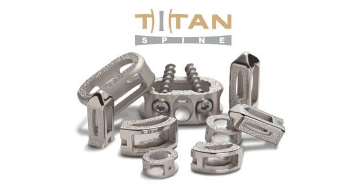 Titan Spine Expands Titanium Implant Portfolio Distribution Agreement with MBA