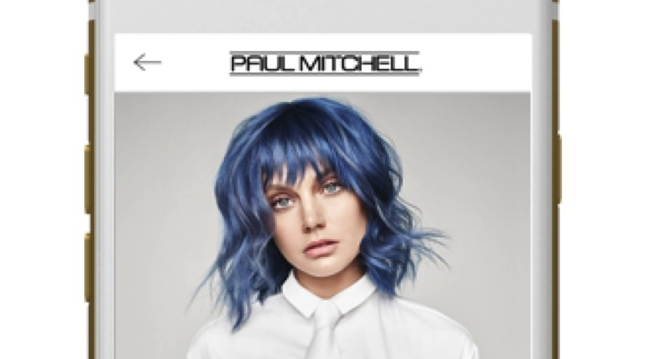 YouCam Taps Paul Mitchell for Hair Color App