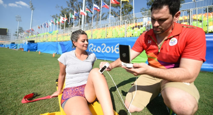 GE's Portable Ultrasound Scanner a Gold Medal Tool at the Olympic Games
