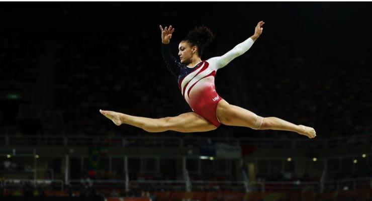 U.S.A. Gymnast Hernandez Makes Beauty Deal