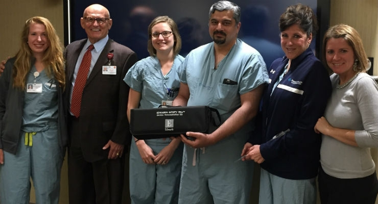 First U.S. Implantation of Edwards Intuity Elite Valve