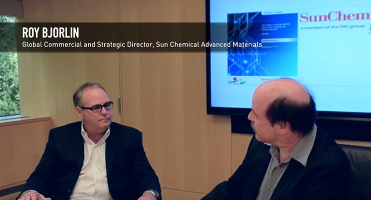 Roy Bjorlin of Sun Chemical Discusses Printed Electronics, CPGs and Converters