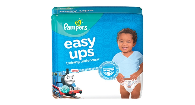 Pampers Upgrades Easy Ups