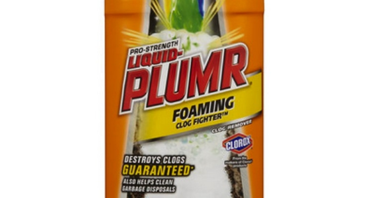 Clorox Expands Liquid Plumbr Recall