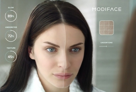 ModiFace Launches Live Video Skin Simulation