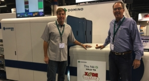 Xode purchases Domino N610i digital UV inkjet label press