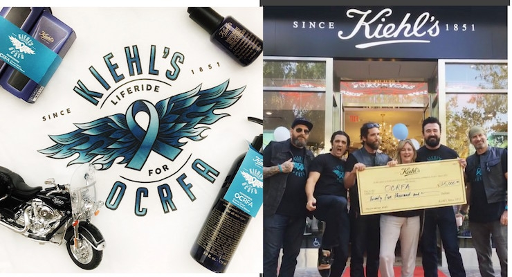 Kiehl's LifeRide Raises Funds for Ovarian Cancer Research