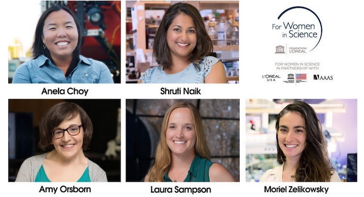 L'Oréal USA Announces The 2016 For Women In Science Fellows