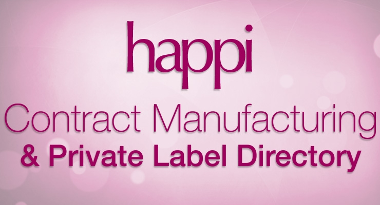 Contract Manufacturing / Private Label Directory