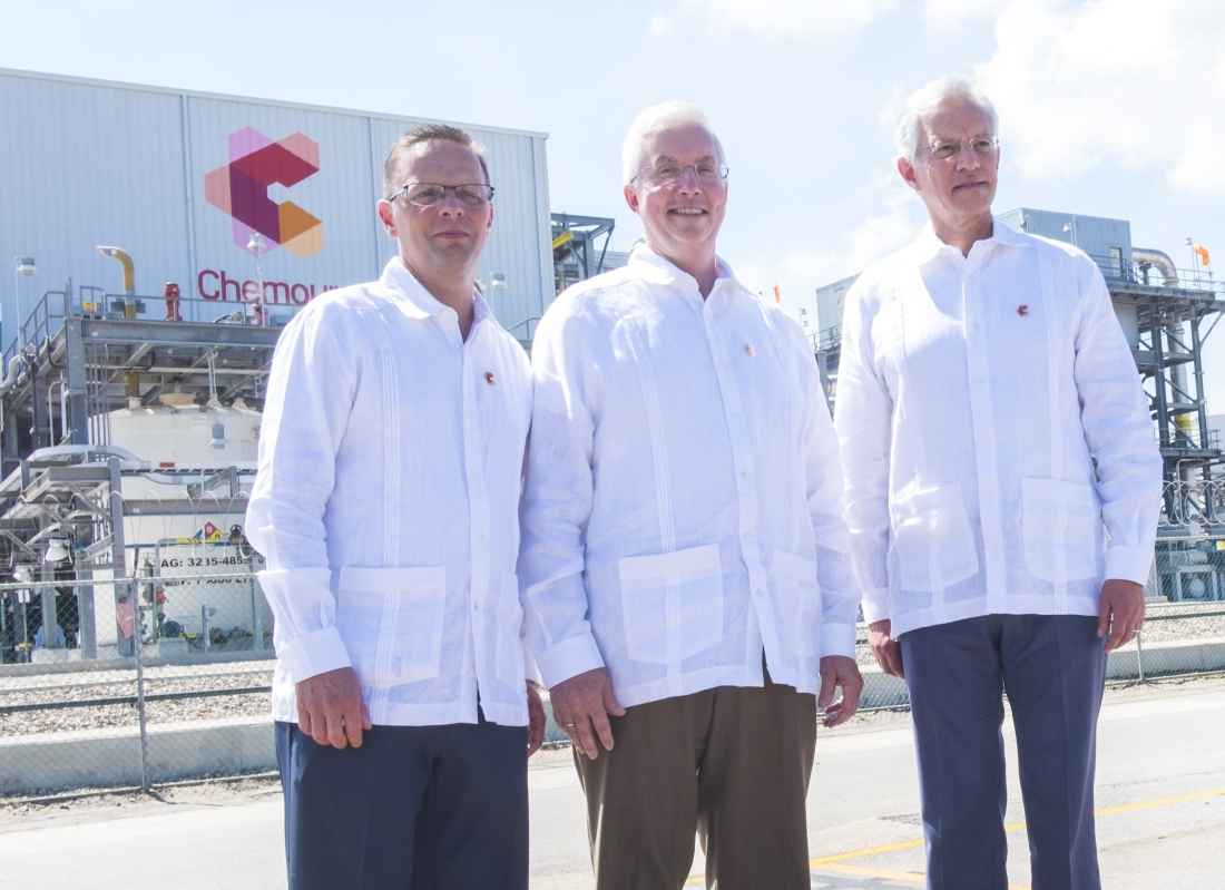 Chemours Inaugurates Expansion at Altamira TiO2 Plant in Mexico