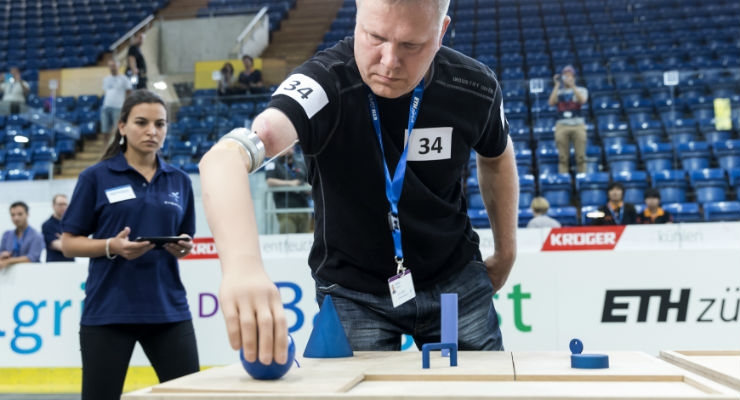 World's First Implanted Bionic Arm Tested in Global 'Cybathlon' Competition