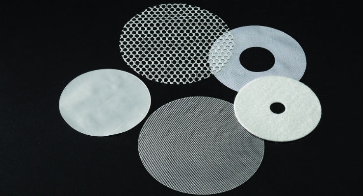Cutting methods must provide accurately shaped components with integral edges and minimal propensity to generate particulate across a broad range of implantable textile constructions.