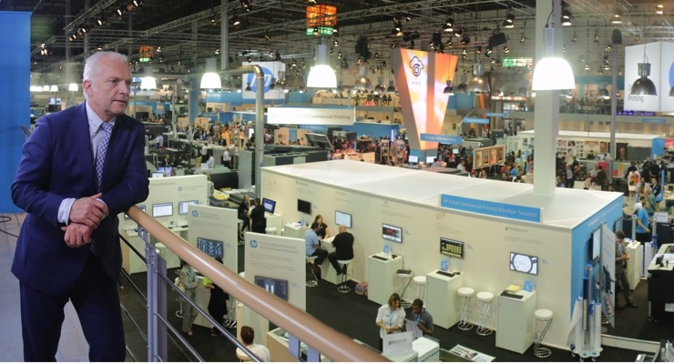 A Look at the Ink Industry: Ink World's Interview with Francois Martin of HP