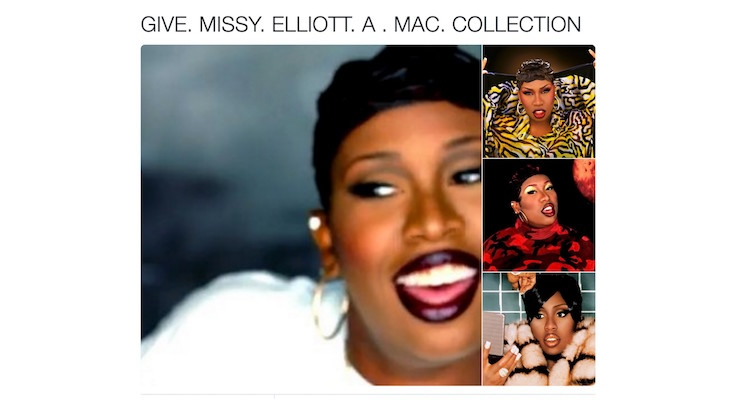 Missy Elliot Fans Petition MAC