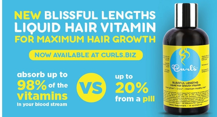 Curls Adds Liquid Vitamin