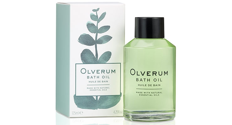 Olverum, with 'clean and beautiful packaging' is comprised of a single sku—a fragrant oil whose formula hails from 1931. The brand was recently picked up in the U.S. by indie beauty boutique, Shen Beauty.
