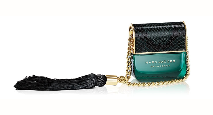 Marc Jacobs Decadence set a new bar for fragrance packaging—both primary & secondary.
