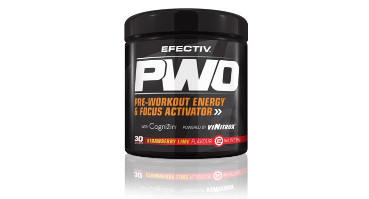 EFECTIV Sports Nutrition Introduces EFECTIV PWO with Cognizin Citicoline