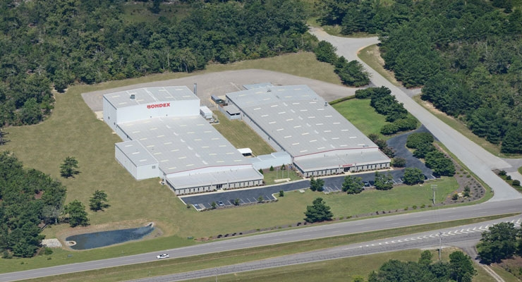 Bondex expanded its capabilities with the addition of a spunlace line at its home base in Trenton, SC.
