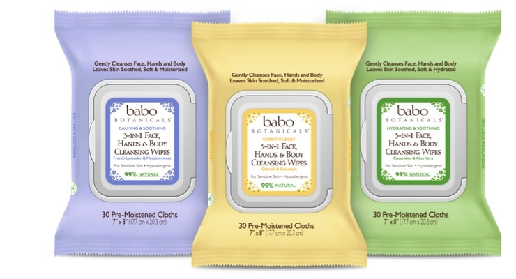 Babo Botanicals Adds Multitasking Wipes