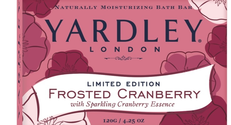 Yardley Rolls Out Limited Edition Soaps