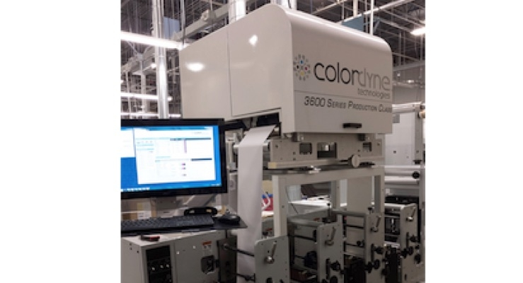DLS adds digital capability with Mark Andy and Colordyne hybrid