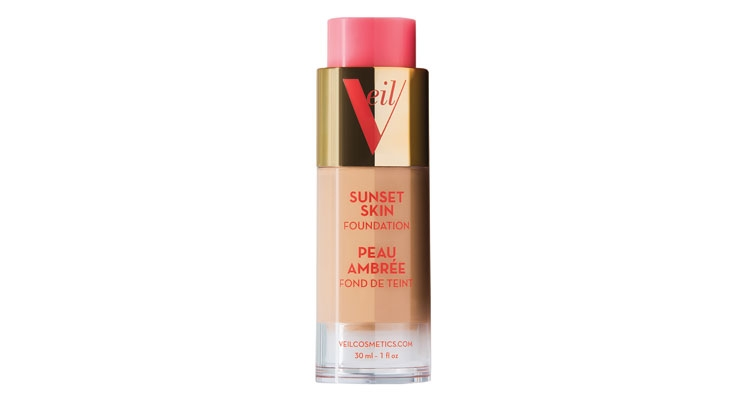 Sunset Skin Foundation Is  New from Veil Cosmetics