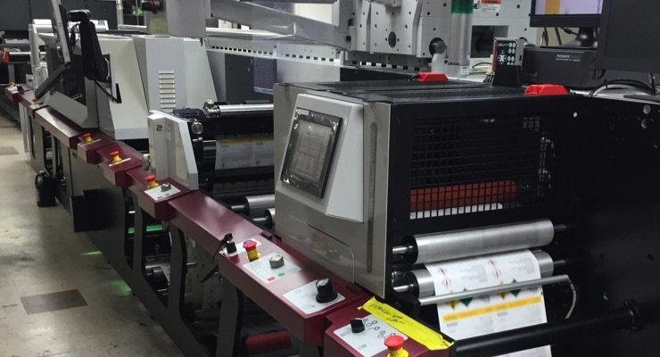 Label Solutions installs Mark Andy Digital Series hybrid press