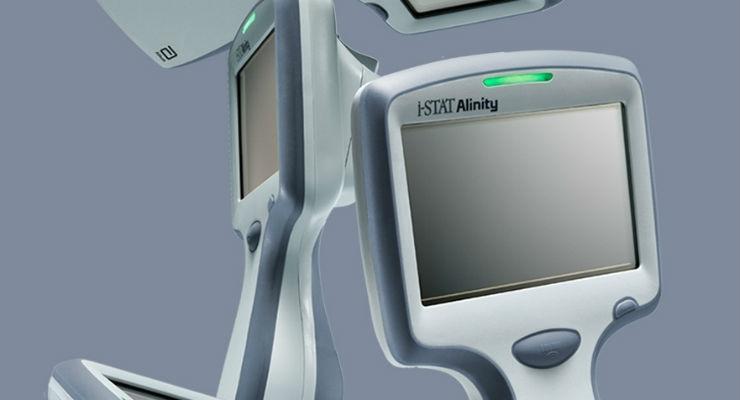 Abbott's i-STAT Alinity Handheld Blood Testing Platform Awarded CE Mark