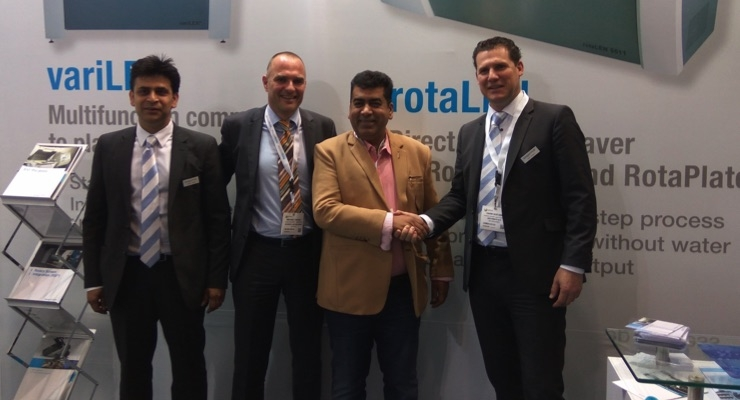 Zircon invests in SPGPrints rotaLEN direct laser engraver at Labelexpo India