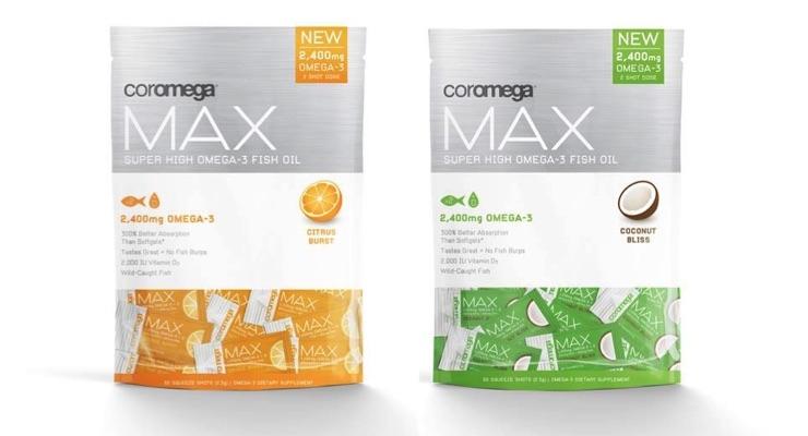 Coromega Launches Super-Concentrated Coromega Max Supplement