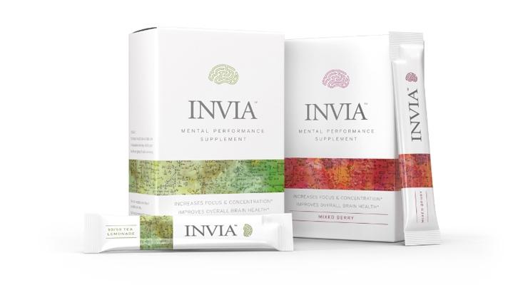 INVIA Mental Performance Drink Mix Features CognizinCiticoline