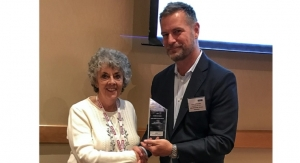AWA honors Clare Goldsberry at in-mold labeling conference